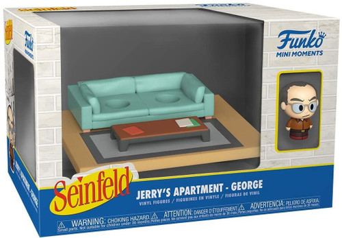 Funko Seinfeld Mini Moments Jerry's Apartment George Diorama [Regular Version] (Pre-Order ships June)