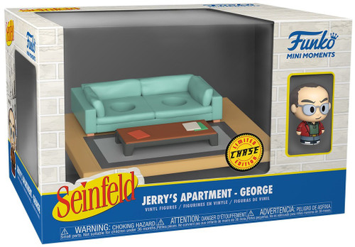 Funko Seinfeld Mini Moments Jerry's Apartment George Diorama [Chase Version] (Pre-Order ships June)