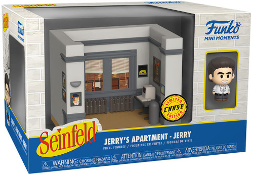 Funko Seinfeld Mini Moments Jerry's Apartment Jerry Diorama [Chase Version] (Pre-Order ships June)