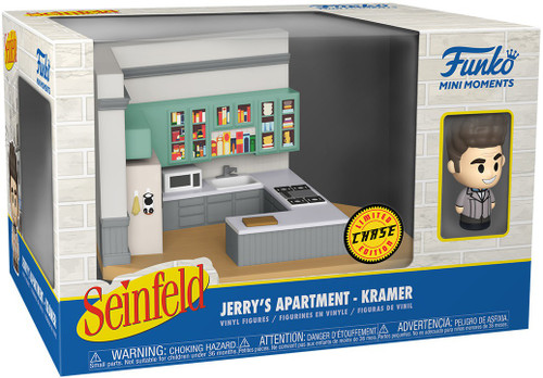 Funko Seinfeld Mini Moments Jerry's Apartment Kramer Diorama [Chase Version] (Pre-Order ships June)