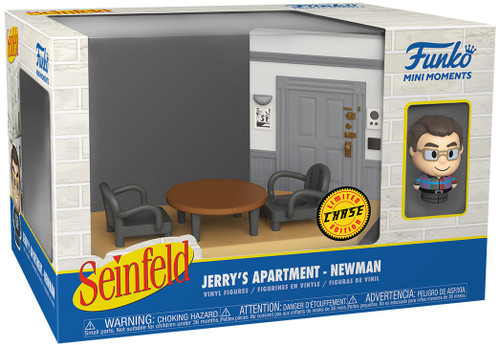 Funko Seinfeld Mini Moments Jerry's Apartment Newman Diorama [Chase Version] (Pre-Order ships June)