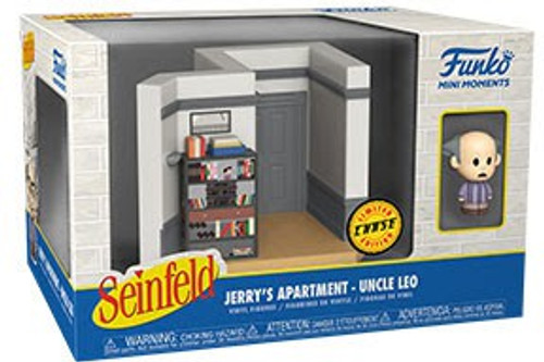 Funko Seinfeld Mini Moments Jerry's Apartment Uncle Leo Diorama [Chase Version] (Pre-Order ships June)