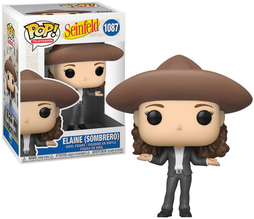 Funko Seinfeld POP! TV Elaine in Sombrero Vinyl Figure (Pre-Order ships June)