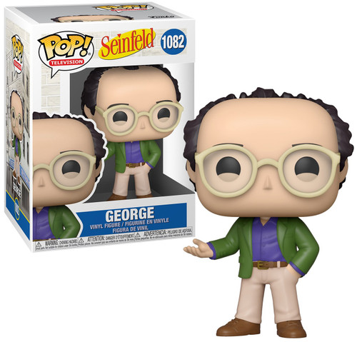 Funko Seinfeld POP! TV George Costanza Vinyl Figure (Pre-Order ships June)