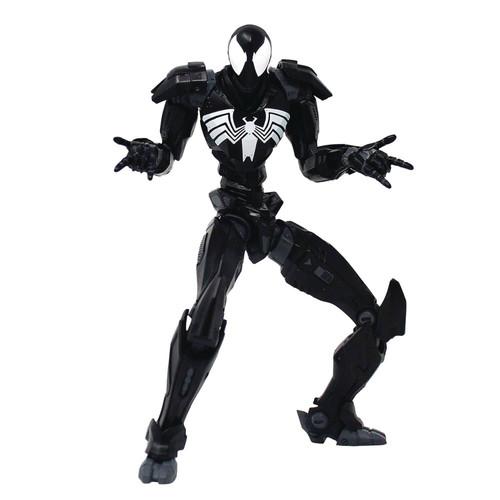 Mecha Marvel Spider-Man Action Figure [Symbiote Costume] (Pre-Order ships November)