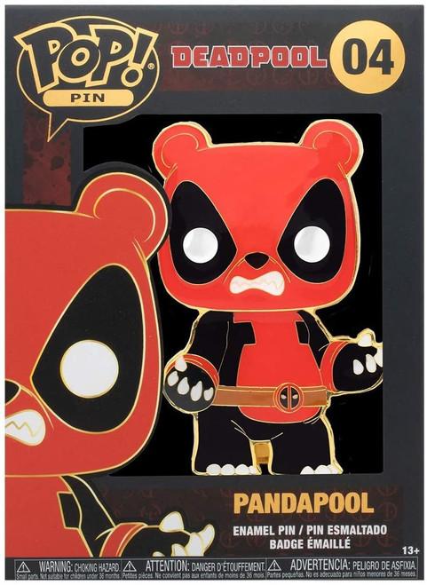 Funko Marvel Deadpool POP! Pandapool Large Enamel Pin [Regular Version]