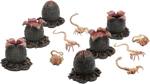 Alien Covenant Eggs & Facehuggers 12-Piece Set [Aliens Inpired Look] (Pre-Order ships February)