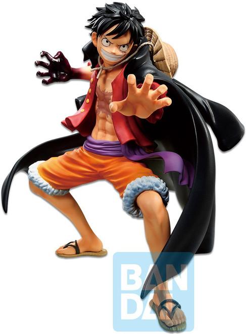 One Piece Ichibansho Monkey D. Luffy 5.9-Inch Statue [Best Of Omnibus] (Pre-Order ships October)