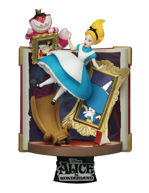 Disney D-Select Story Book Series Alice in Wonderland 6-Inch Diorama Statue DS-077 (Pre-Order ships January)