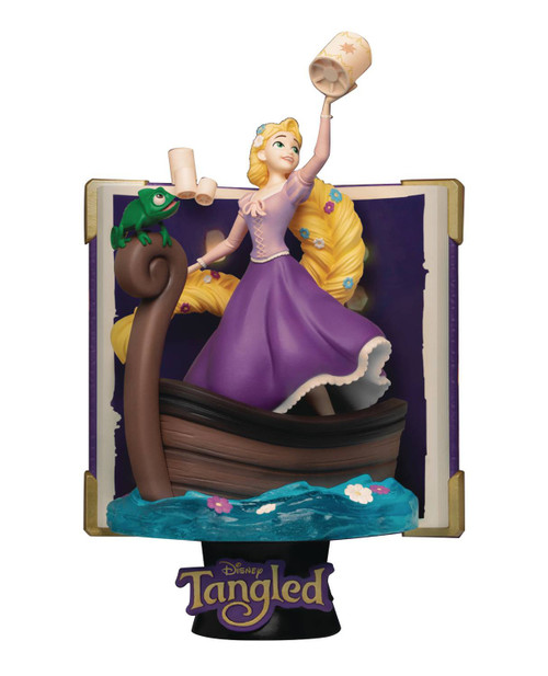 Disney D-Select Story Book Series Tangled 6-Inch Diorama Statue DS-077 (Pre-Order ships January)