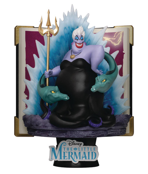 Disney The Little Mermaid D-Select Story Book Series Ursula 6-Inch Diorama Statue DS-080 (Pre-Order ships January)