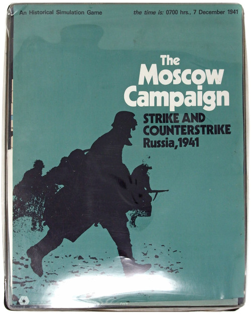 The Moscow Campaign Strike and Counterstrike Russia, 1941 Simulation Game [Opened]