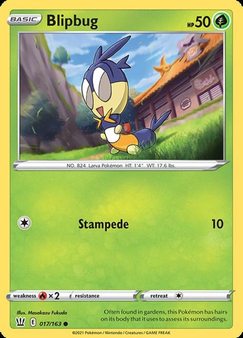 Pokemon Sword & Shield Battle Styles Common Blipbug #17