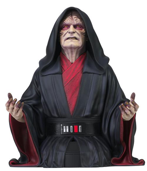 Star Wars Rise of Skywalker Emperor Palpatine Bust (Pre-Order ships October)