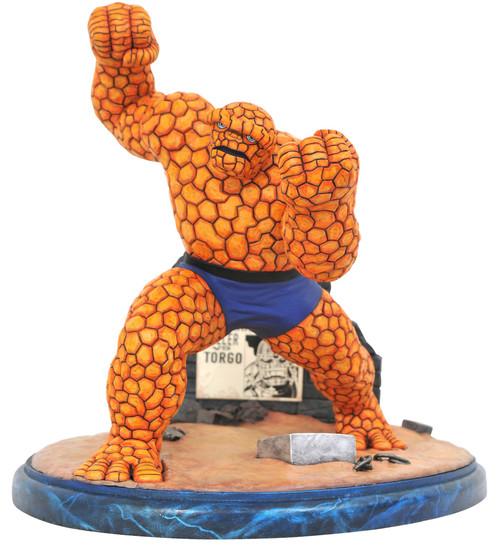 Marvel Premier Collection The Thing 11-Inch Limited to 3000 Statue [Comic Version] (Pre-Order ships August)