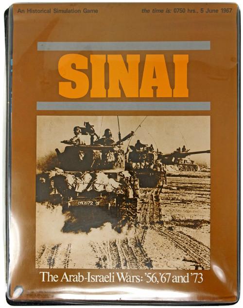 Sinai: The Arab-Israeli Wars: '56, '67 & '73 Simulation Game [Opened]