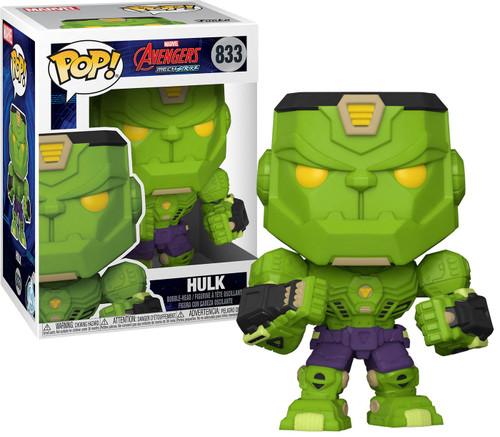 Funko Marvel Mech Strike Hulk Vinyl Figure #833