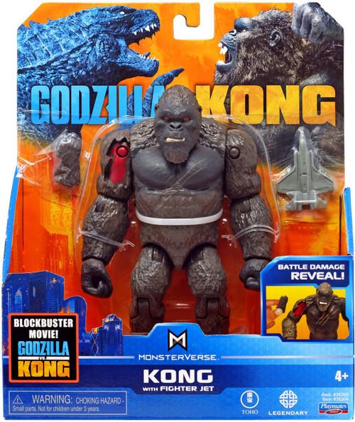 Godzilla vs Kong Monsterverse Kong Action Figure [with Fighter Jet]