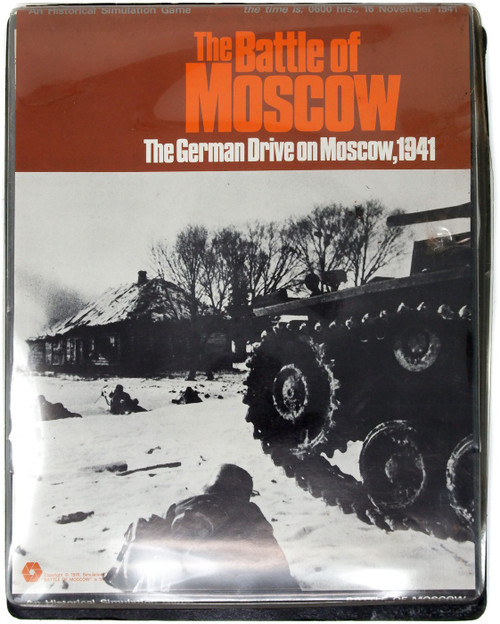 The Battle of Moscow: The German Drive on Moscow 1941 Simulation Game [Opened]