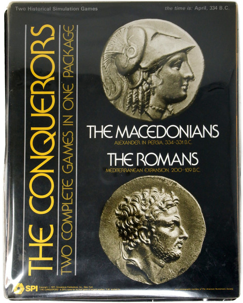 The Concquerors: The Romans and The Macedonians Simulation Game [Opened]