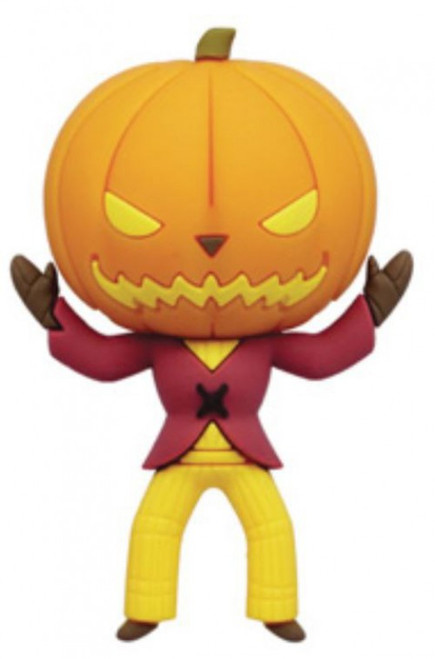 Nightmare Before Christmas 3D Figural Foam Bag Clip Series 5 Pumpkin King Keychain [Exclusive A Loose]