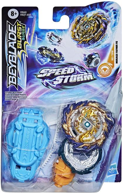 Beyblade Burst Rise Speedstorm Mirage Fafnir F6 Starter Pack