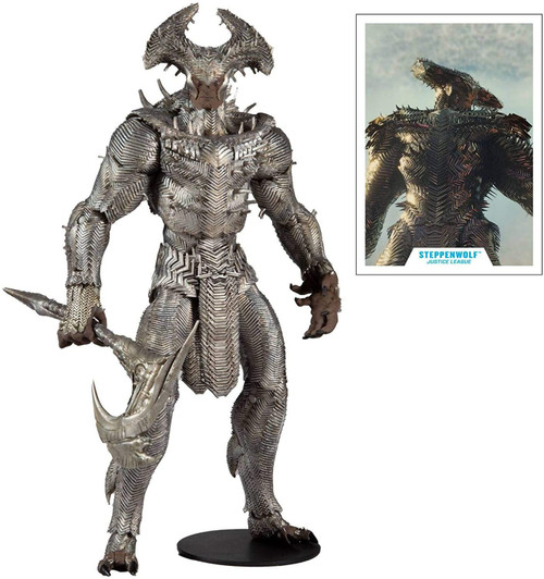 McFarlane Toys DC Justice League MEGA Steppenwolf Action Figure (Pre-Order ships June)