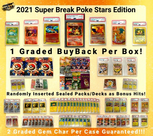 Pokemon Trading Card Game 2021 Poke Stars Version 1.0 Box