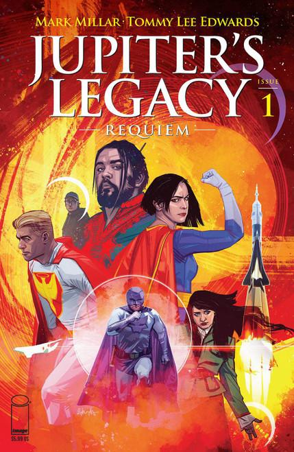 Image Comics Jupiter's Legacy Requiem #1 Comic Book