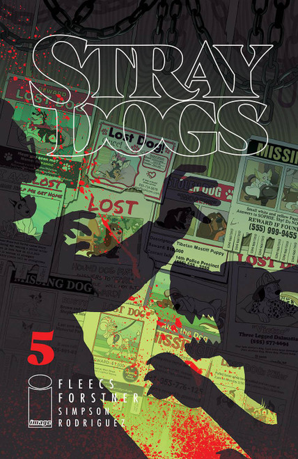 Image Comics Stray Dogs #5 Comic Book (Pre-Order ships June)