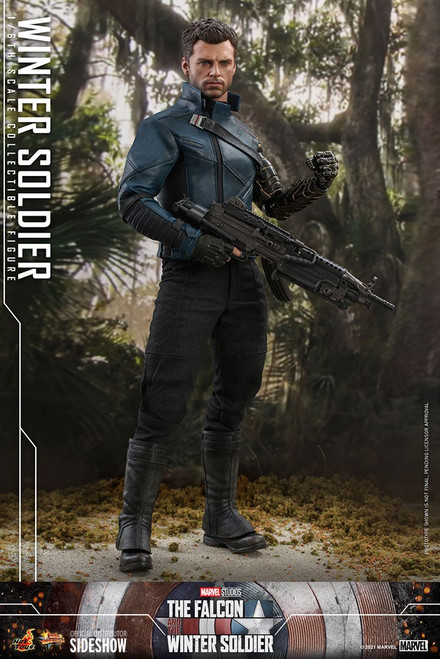 Marvel Falcon and The Winter Solider Movie Masterpiece Winter Soldier Collectible Figure [Falcon and The Winter Solider] (Pre-Order ships October 2022)