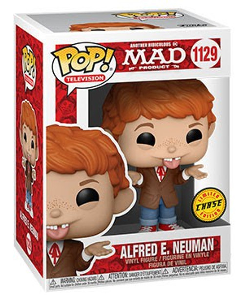 Funko MAD TV POP! TV Alfred E. Neuman Vinyl Figure [Tongue Sticking Out, Chase Version] (Pre-Order ships May)