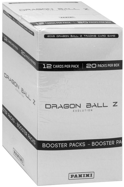 Dragon Ball Z Collectible Card Game Evolution BLISTER Booster Box [20 Packs]