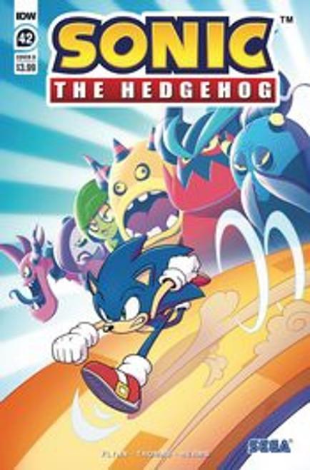 IDW Sonic The Hedgehog #42 Comic Book [Cover B Abby Bulmer] (Pre-Order ships June)