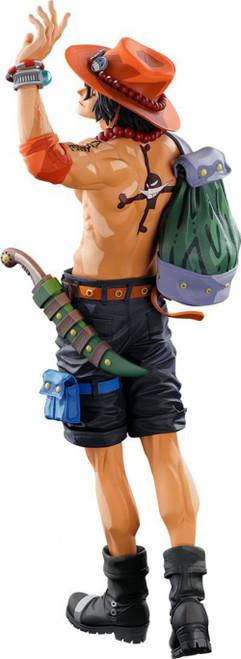 One Piece World Figure Colosseum 3 Portgas D. Ace 15-Inch Collectible PVC Figure [2D Version] (Pre-Order ships December)