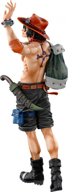 One Piece World Figure Colosseum 3 Portgas D. Ace 15-Inch Collectible PVC Figure [Brush Version] (Pre-Order ships December)
