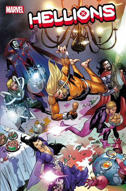 Marvel Hellions #12 Comic Book [Hellfire Gala] (Pre-Order ships June)