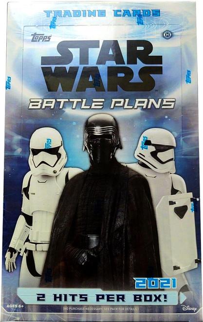 Star Wars Topps 2021 Battle Plans Trading Card Box [24 Packs] (Pre-Order ships September)