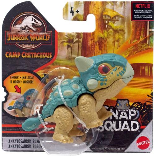Jurassic World Camp Cretaceous Snap Squad Ankylosaurus Bumpy Mini Figure [Version 2]