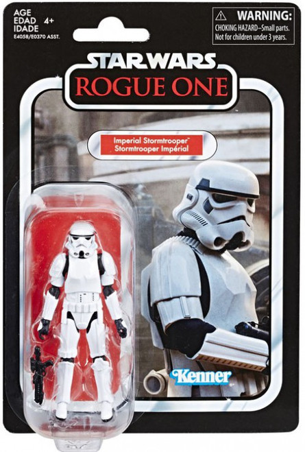 Star Wars Rogue One Vintage Collection Wave 22 Imperial Stormtrooper Action Figure [Damaged Package]