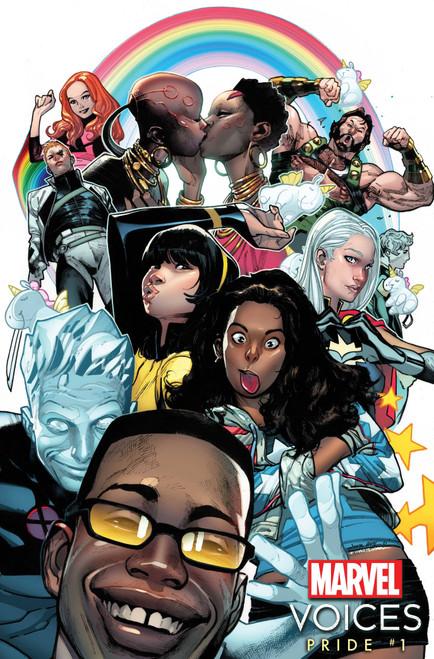 Marvel's Voices One-shot Pride Comic Book [Coipel Variant] (Pre-Order ships June)