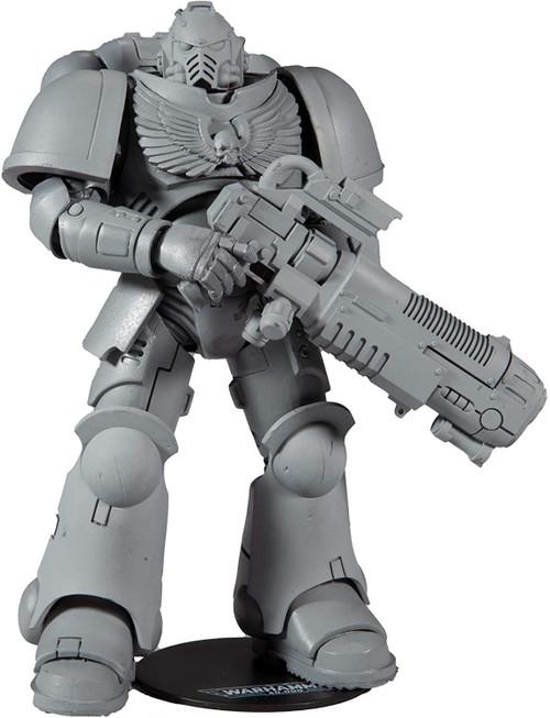 McFarlane Toys Warhammer 40,000 Series 2 Primaris Space Marine Hellblaster 'AP' Action Figure [Artist Proof Variant]