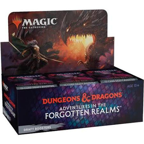 MtG Trading Card Game Adventures in the Forgotten Realms DRAFT Booster Box [36 Packs] (Pre-Order ships July)