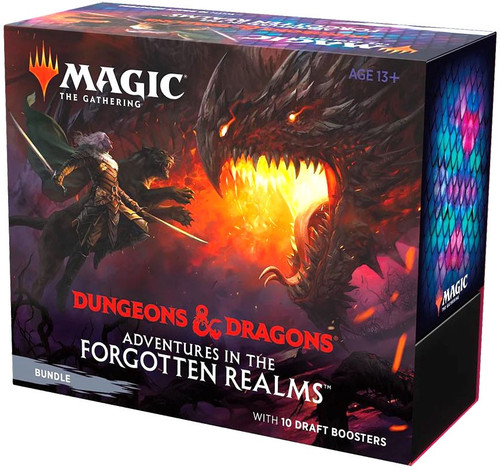 MtG Trading Card Game Adventures in the Forgotten Realms Bundle [10 Packs]