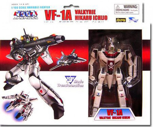 Robotech Macross Transformable Series 1 Veritech Fighter Hikaru Ichijo's VF-1A Action Figure [Damaged Package]