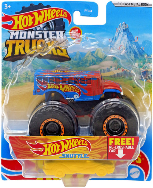 Monster Trucks Hot Wheels Shuttle Diecast Car