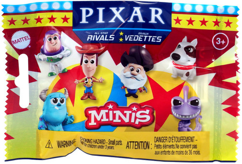 Disney / Pixar Minis All-Star Rivals Mystery Pack [1 RANDOM Figure]
