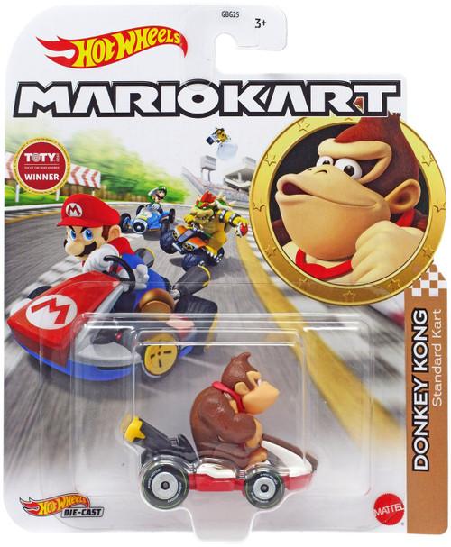 Hot Wheels Mario Kart Donkey Kong Diecast Car [Standard Kart]