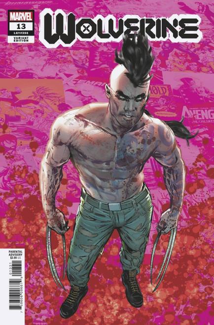 Marvel Wolverine #13 Comic Book [Hellfire Gala, Pride Variant] (Pre-Order ships June)
