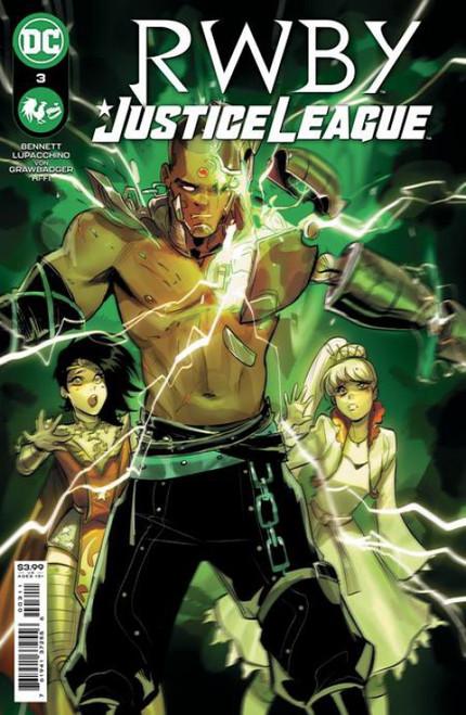 DC RWBY Justice League #3 Comic Book
